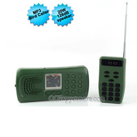 Bird Hunting MP3 Player Caller with Remote Control LM-BC1256