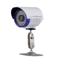 CCTVEX CMOS Color 700TVL  security camera IR CUT waterproof 36 LED day night vision to 65ft wide range surveillance A23C