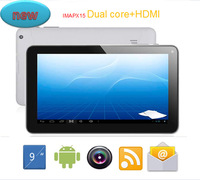 "Factory price!!  9""Dual Core IMAPX15  Android 4.1  Tablet pc  512 DDR 8GB 9INCH HDMI  Dual Camera tablet  Free Drop shippig"