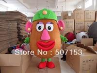 Mrs. Potato Head Adult Mascot Costume free Shipping