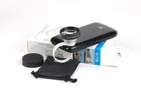 Free shipping(1pc) 5X Telephoto lens Universal Mobile phone lenses for iPhone4s 5 Samsung Nokia Sony HTC Tablet PC
