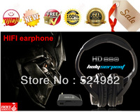 HOT-2013NEW, Snake St. Hd-880 superacids 2.4g wireless headphones with microphone headsets battery wired zone,Free shipping