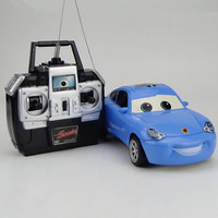 Cute 1/32   Sally in The Cars electric Radio control cartoon die-cast car
