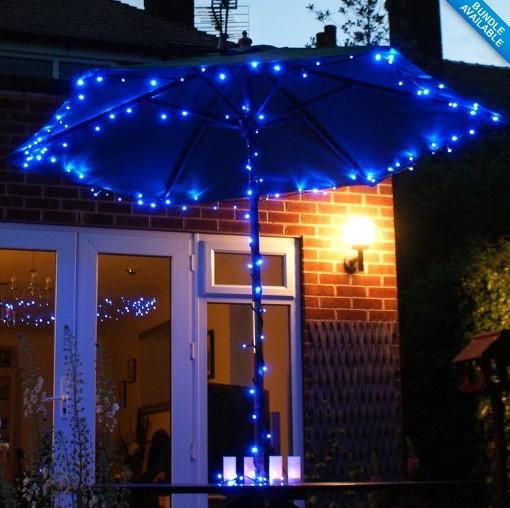 KITOSUN Frozen Party Decorations 2pcs Lot Blue Color Garden Fairy Light Strin