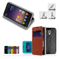 5 Color,Ultra-thin Flip Leather Stand Case For XIAOMI 2A M2A Mi2A Luxury Phone Leather Covers With Touch Screen Window