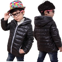 2013 child down coat male children's child clothing with a hood down coat