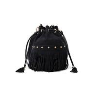 2013 trend fashion all-match tassel bucket bag drawstring shoulder bag fashion handbag