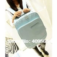 Lovers backpack color block laptop bag backpack school bag handbag new fashion women and men's Computer Bag shoulders bags