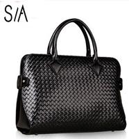 New 2014 women messenger bags genuine leather bag for women handbag fashion cowhide briefcase shoulder bag famous brand handbags