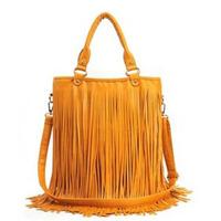 Fashion handbag popular 2013 women's handbag vintage messenger bag tassel bag women bag