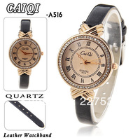 Free delivery of high quality luxury set auger women's fashion leisure quartz watch