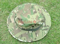 Freeshipping 1pc Military bonnie hats camouflage sun hat outdoor camping army hat Outdoor Cap for Fishing Hiking