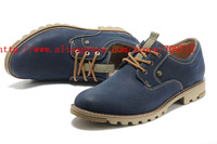 2014 Fashion P717147 Sneakers men's genuine leather Outdoor work Casual shoes walking shoes Martin boots hiking boots size:39-44