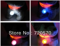 2015 Promotion Sale Perros Pet Products Dog Collar Led Pendant Dog Flashing Light Hang Tags, Good Night Walking The Pet Items