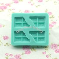 Free shipping 1 set 4 pieces chololates shape chocolate silicon mold fondant Cake decoration mold
