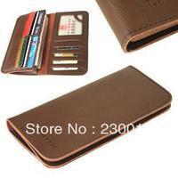 multi-card position wallet leather wallet men wallet long section of genuine leather wallets man bag gift