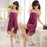 Sexy Women Sleepwear Chemise Babydoll Lingerie Nightie Dress G String Underwear Ladies nightwear underwear adult costume uniform