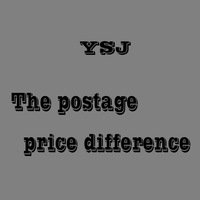 The postage price difference