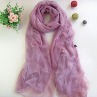 Scarf winter thermal women's design long scarf thick decoration scarf