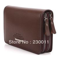 hot selling men's wallet fashion business bag leisure commercial bag Cow split leather bag