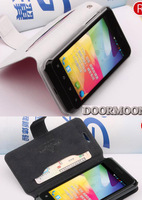 Fashion Case For ZTE v889s u889s u807 n807 v807 Flip Leather 100% Doormoon Leather Pouch Cover