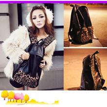 School undercoat leopard Skin Punk Style Backpack Bag Women lady Travel(China (Mainland))