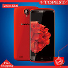 "original Real s4 mini i9190 9500 android4.2 MTK6589 quad core 1G RAM 4.3""HD screen smartphone GSM WCDMA WIFI 3G DUAL S"