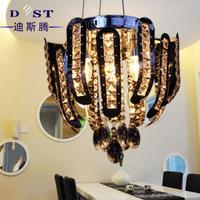 2014 Limited Promotion Ceiling Lamp Lustres De Teto Luxury Modern Dst Brief Led Crystal Restaurant Lamp Bedroom Ceiling Light