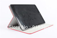 20pieces/lot new arrival Hot stamping single flower imitation leather case For ipad mini case
