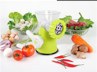 1PC Free Shipping Family Mini Popular Hand-Operated Meat Grinder Green Mincer Pasta Maker Manual Kitchen Tool  670418