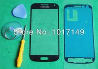 Original Black Outer Screen Top Glass for Samsung Galaxy S4 SIV mini i9190 +Tools + Adhesive MOQ:1pcs