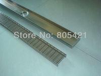 bathroom accessories linear grate floor drain