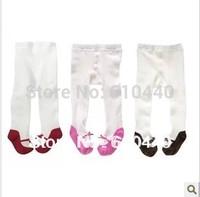 9pcs/lot Cute baby girl's Cotton leggings children's leggings new born baby stocking Cotton toddler's tights babies pp pants