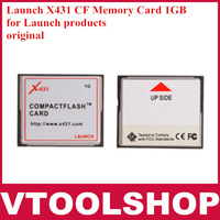 2013 Top-Rated  Promotional Original Launch x431 gx3 master x431 1GB CF card Free Shipping  x431 card