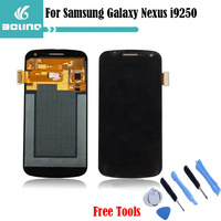 Free shipping Original For Samsung Galaxy Nexus i9250 i515 Replacement LCD Touch Digitizer Screen Assembly With logo Free Tools