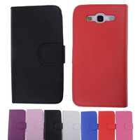 10Pcs/lot Wholesale,Luxury Leather Flip Card Case Cover For Samsung Galaxy S3 III i9300,Top Quality Items Cell Phone Accessories