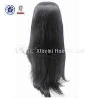 "Grade 5A+ Virgin Human Hair XBL 8"" to 26"" Straight Lace Front Wig"