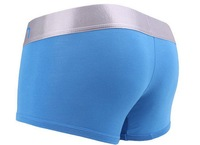 J 8pcs/lot  best price good Quality soft sexy men CK01 mens boxer Short men's underwear modal