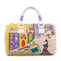 Braccialini 's same designer Provence commemorative models women's handbag casual personality handbags portable bag messenger