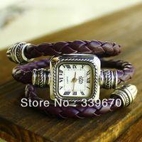 Wholesale Snake Style fashion Roma Vintage Women bracelet watch TOP quality Free shipping 100pcs