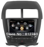 A8 Chipset S100 HD Car DVD Headunit For MITSUBISHI ASX/ PEUGEOT 4008 2012 With GPS,BT,iPOD,TV,Radio,WI,Free Shipping