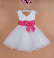 free shipping,2014 New Summer girl dress for party, sleeveless, elegant princess dress,girls dress,children's dress