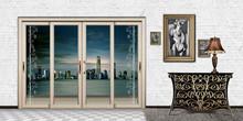 popular aluminum interior door