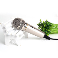 3.5mm Condenser Microphone Network KTV Home Party Studio Speech MIC Fr PC Laptop