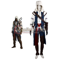 New Arrival  Custom Made Cool Role Cosplay Costume Inspired By Assassin's Creed