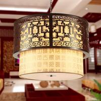 Antique chinese style pendant light wooden lamp restaurant lamp classical lighting 6036