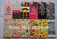 Lovely Cartoon Design Tower IMD Soft TPU Case For iPhone 5 5S,10pcs/lot  Free Shipping