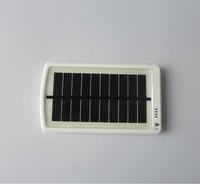 5V 3000mAh White Portable Lipo Solar Mobile power for iPhone (MP-S3000B)