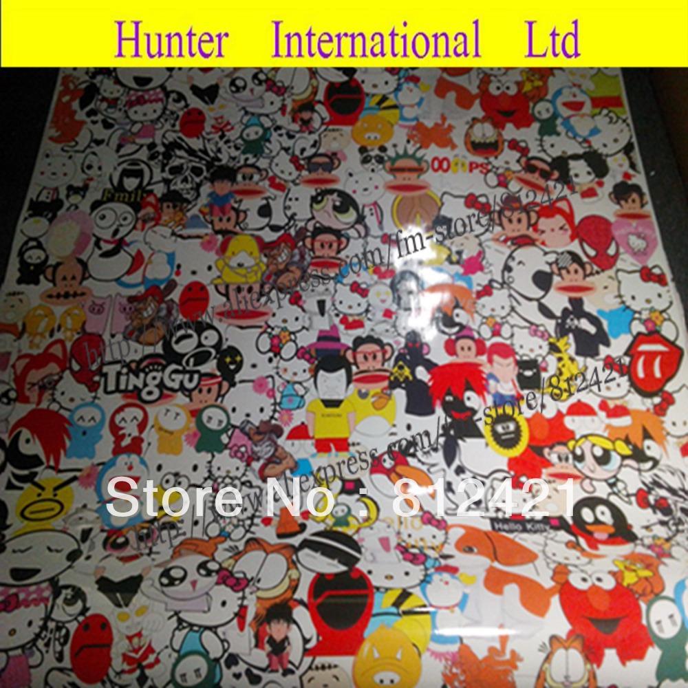 M sticker on car - Sticker Bomb Hello Kitty Viewing Gallery
