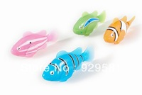 Retail Fish Electronic Swimming Fish Magical Robo 2013 New Robot fish Activated Turbot electric Fish Free Shipping